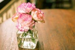 цветок Ретро-года сбора винограда Стоковые Фото