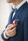Цветок свадьбы Groom Стоковое Изображение RF