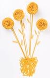 цветок сделал макаронные изделия Стоковое фото RF