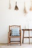 Цветок смертной казни через повешение, засевает чистый дом травой или кафе украшает Стоковое фото RF