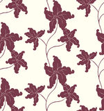 цветок стилизованный Стоковое Фото