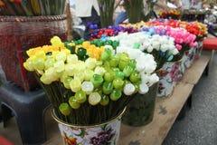 Цветок тюльпана кокона Стоковое Изображение RF