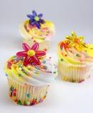 цветок украшений пирожнй брызгает Стоковое Фото