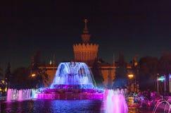 Цветок фонтана каменный Стоковое Фото