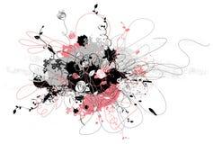 цветок формирует вектор иллюстрация вектора