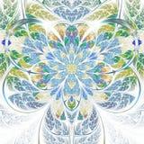 Цветок фрактали весны тематический светлый Стоковые Фото