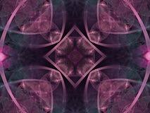 Цветок фрактали калейдоскопа Стоковые Изображения RF