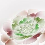 Цветок фрактали светлой весны тематический Стоковая Фотография