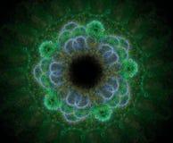 Цветок фрактали Abstracty Стоковое фото RF