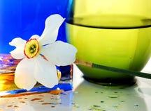 цветок цвета предпосылки Стоковые Изображения