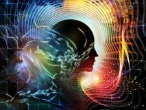 Цветок человеческого разума Стоковое Изображение RF