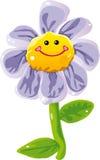 Цветок шаржа Стоковое фото RF