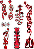 цветок элементов конструкции Стоковые Изображения