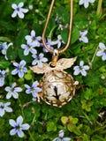Цветок bling стоковая фотография rf