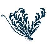 цветок dragonfly Стоковые Изображения