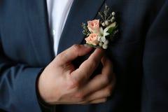 Цветочная композиция свадьбы Стоковое фото RF