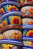 цветочные горшки Стоковое Изображение RF