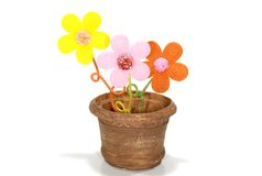 цветочный горшок стоковые фотографии rf