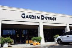 Цветочный магазин района сада, Мемфис, TN Стоковая Фотография RF