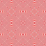 Цветочный узор вектора винтажный безшовный Стоковые Изображения RF