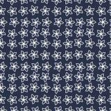 Цветочный узор в малом цветке Мотивы разбросали случайное Безшовный вектор texture_4 иллюстрация штока