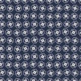 Цветочный узор в малом цветке Мотивы разбросали случайное Безшовный вектор texture_6 бесплатная иллюстрация