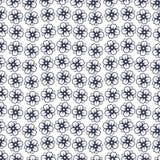Цветочный узор в малом цветке Мотивы разбросали случайное Безшовный вектор texture_7 иллюстрация вектора