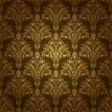 Цветочный узор штофа безшовный Стоковые Фото