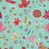 Цветочный узор стоковое изображение