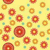Цветочный узор Стоковые Изображения RF