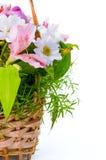 цветы букета корзины красивейшие конструируют различное Стоковое фото RF