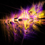 цветы взрывая Стоковое Изображение RF