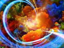 Цветы внутрь Стоковые Изображения RF