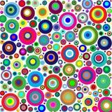 цветы круга Стоковое Изображение