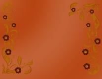 цветы предпосылки осени Стоковое Изображение RF
