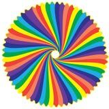 Цветы радуги Стоковая Фотография RF