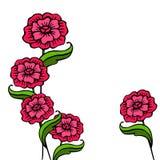 Цветы иллюстрация штока