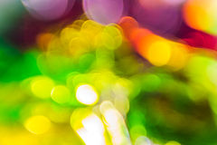 Цвет абстрактной предпосылки пропуская над фольгой Стоковые Изображения