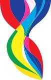 цвет абстракции Стоковое Изображение RF