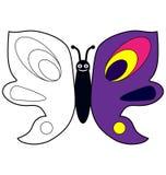Цвет бабочкой примера Стоковая Фотография RF