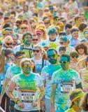 Цвет бежит в Праге, чехии Стоковая Фотография