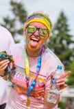 Цвет бежит в Праге, чехии Стоковое фото RF