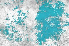 Цвет бетонной стены Grunge голубой стоковое фото