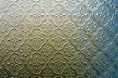 Цвет витража украшает в здании Стоковые Фотографии RF