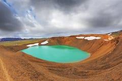 Цвет воды яркий ый-зелен Стоковые Изображения