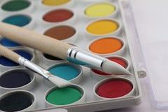 Цвет воды стоковое изображение rf