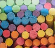 Цвет вставляет мел Стоковое Фото