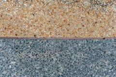 Цвет 2 гравия поверхностный Стоковая Фотография