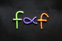 Цвет глины Стоковая Фотография RF