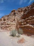 цвет Египет каньона Стоковые Фотографии RF